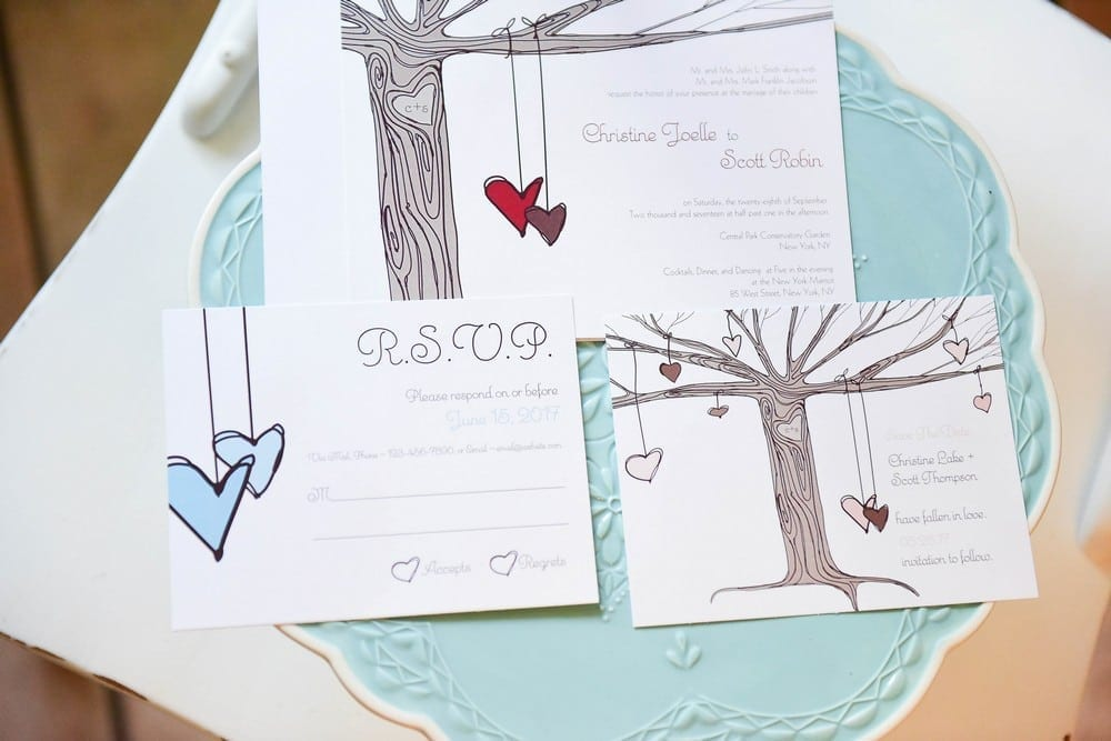 Heart Strings Invitations $2.28 set of 24