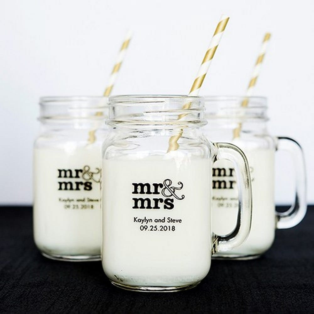 Mason Jar Drinking Glasses | $5.78