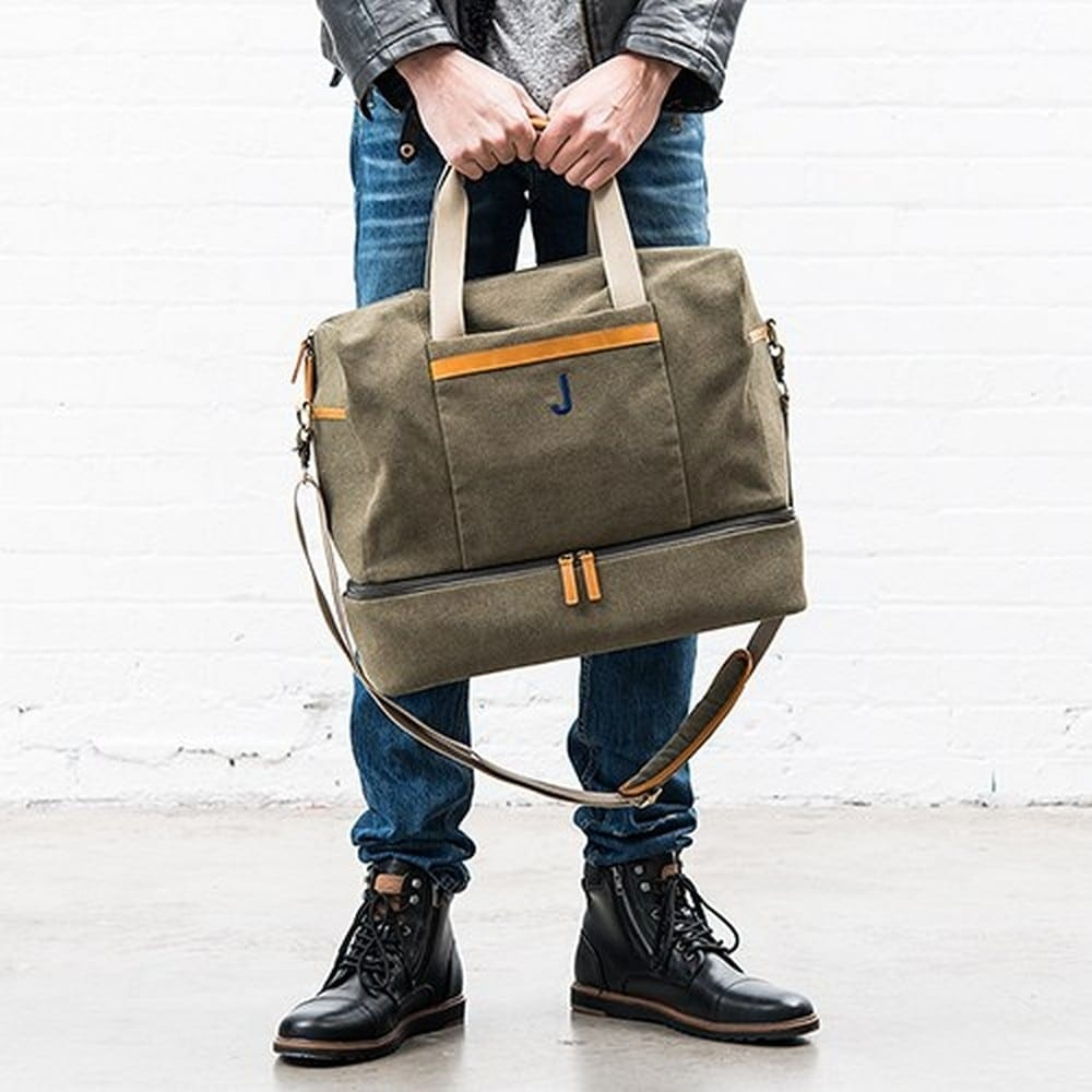 Weekend Carry On Bag | $50 + $6.95 Personalization fee