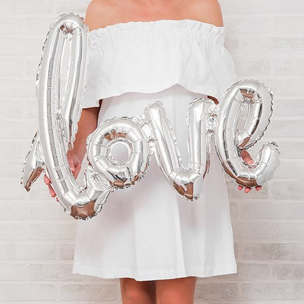 Foil Balloon Decoration | $12