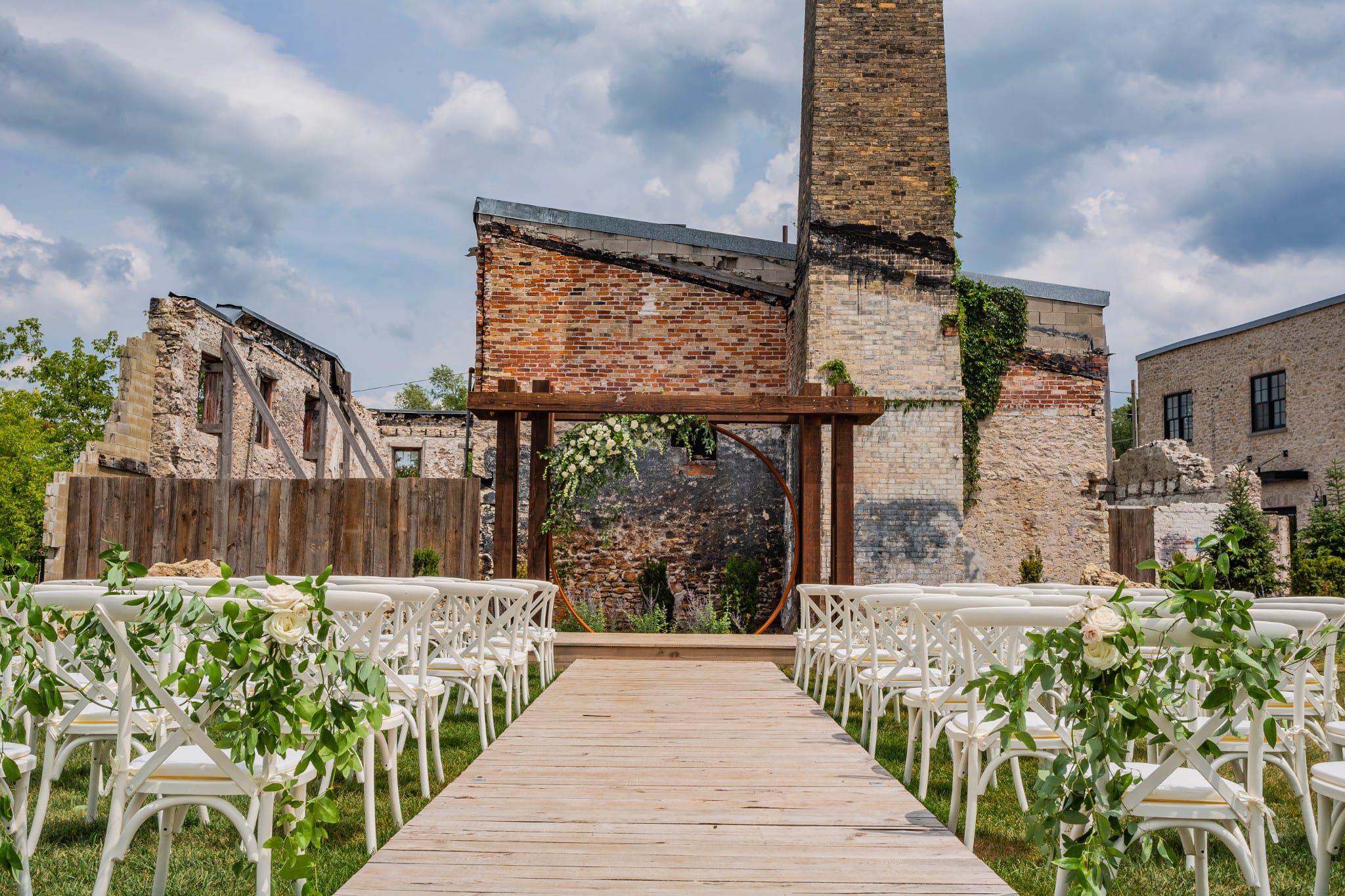wedding planning checklist elora mill wedding ceremony setup