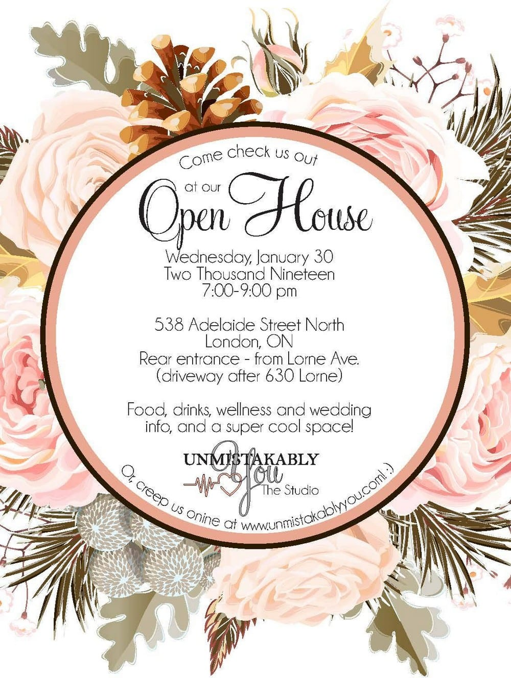 Unmistakably You Open House