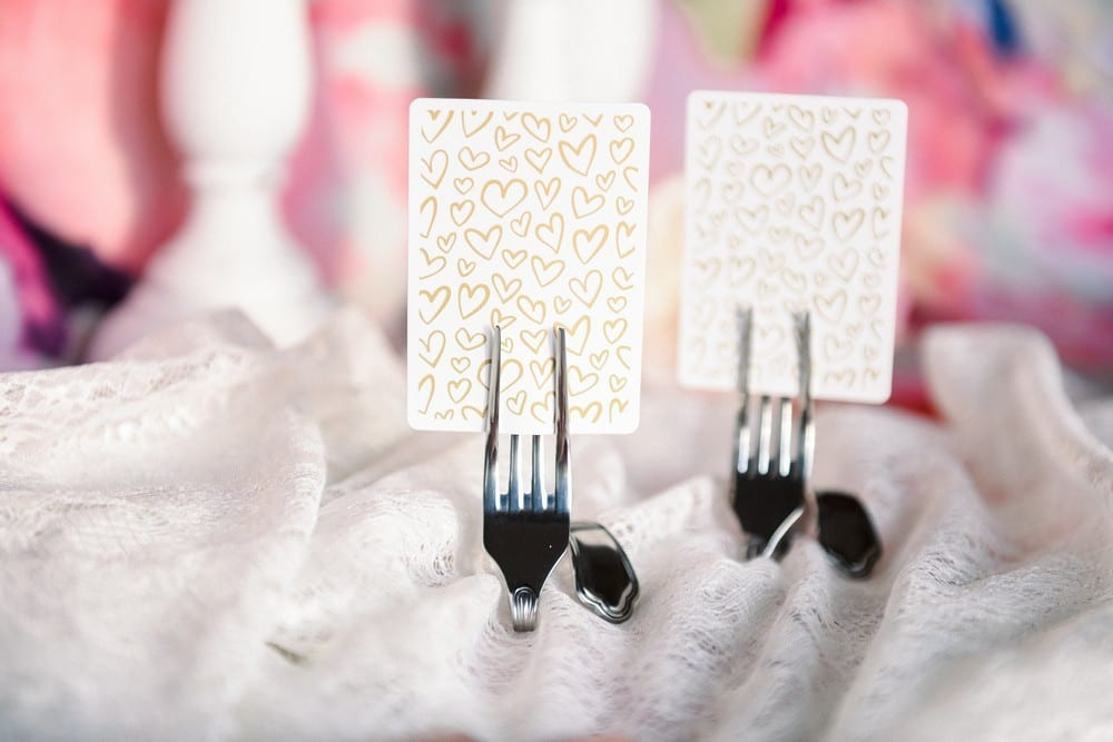 Twisted Fork Place Card Holders (set of 8): $40