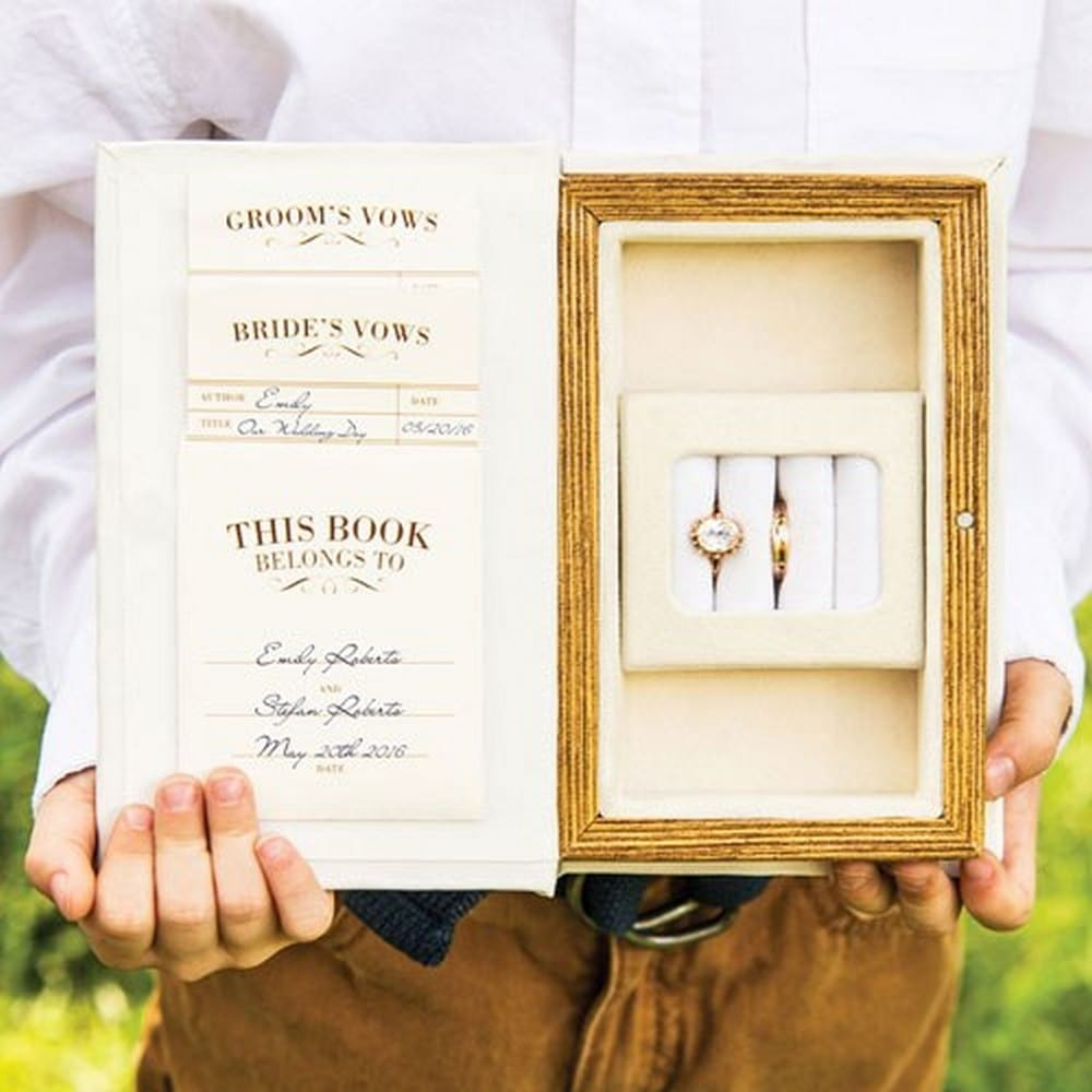 """A Promise Made"" Vintage Inspired Jewelry Book Box 