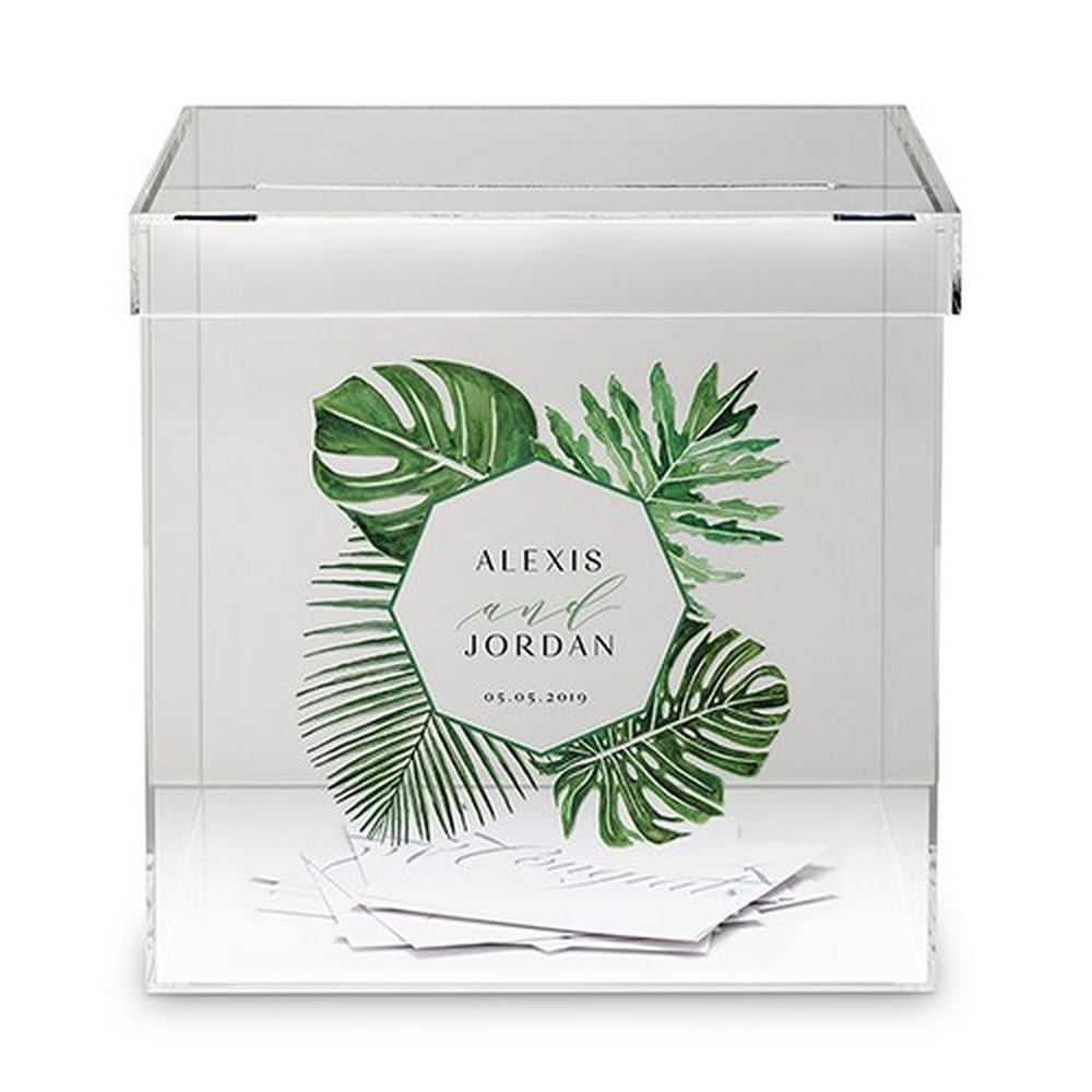 Phantom Wishing Well Acrylic Box - Greenery Printing | $125