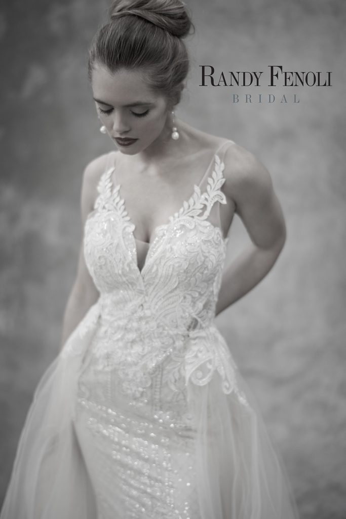 lace detail wedding gown memories bridal