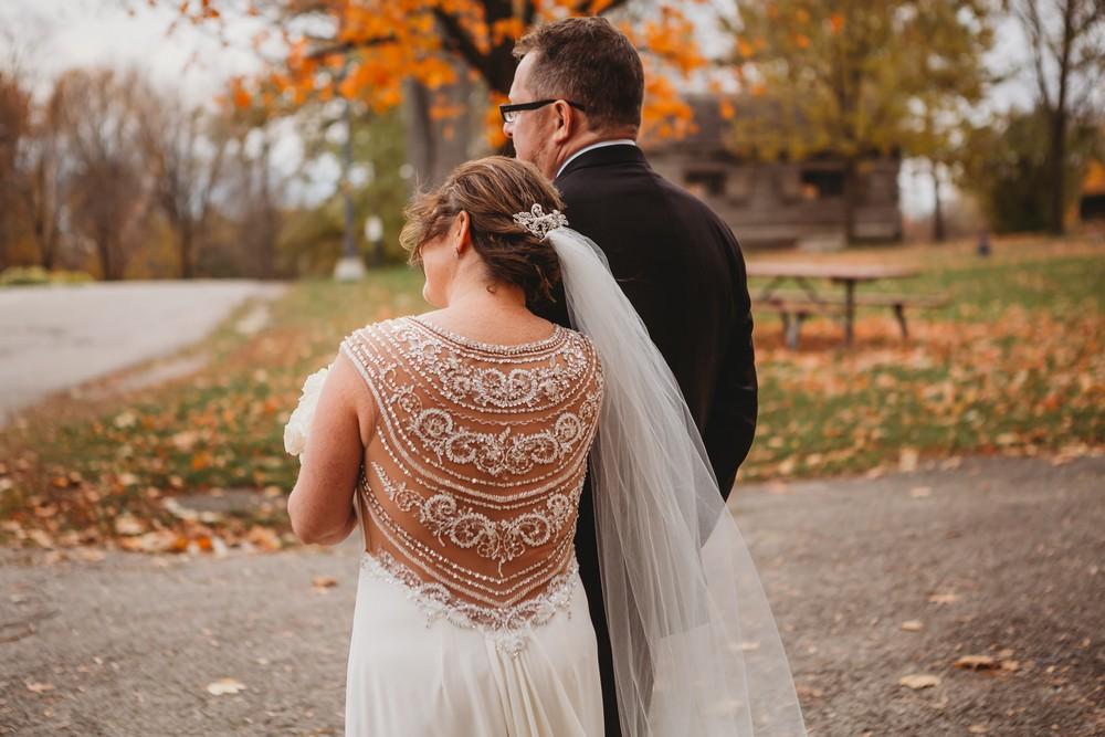 boho wedding dress at Delta Waterloo