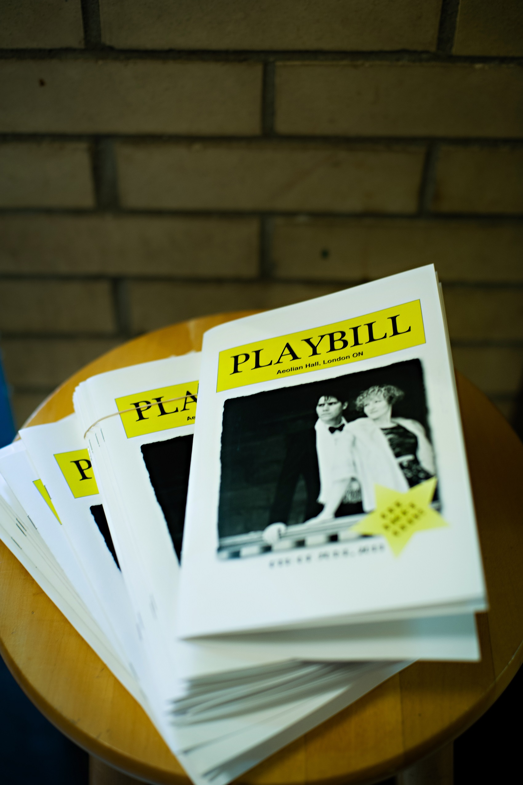 Extra Wedding Planning Time HRM Photography Unmistakably You wedding playbill