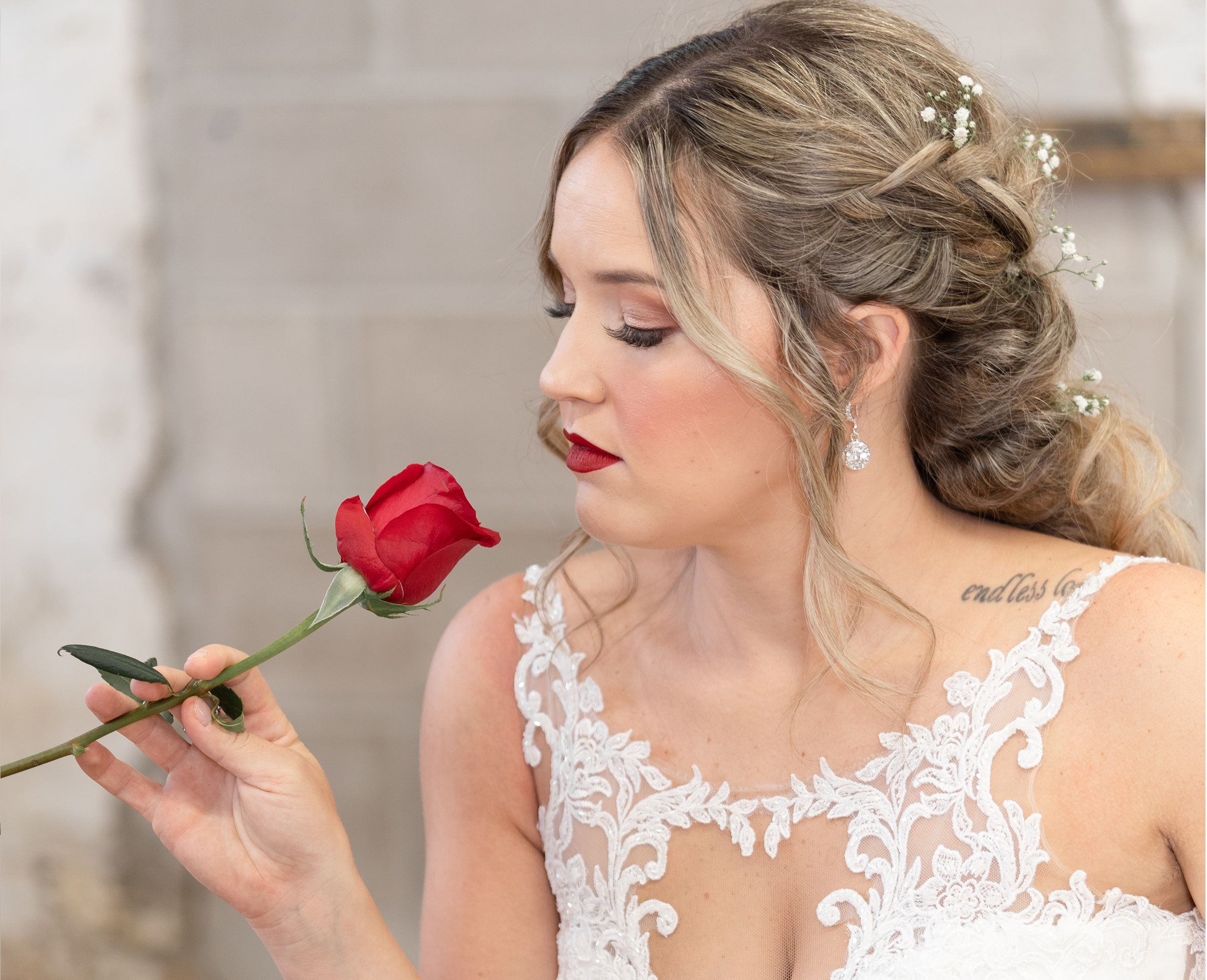 Beauty by Stacey bridal hair bridal makeup