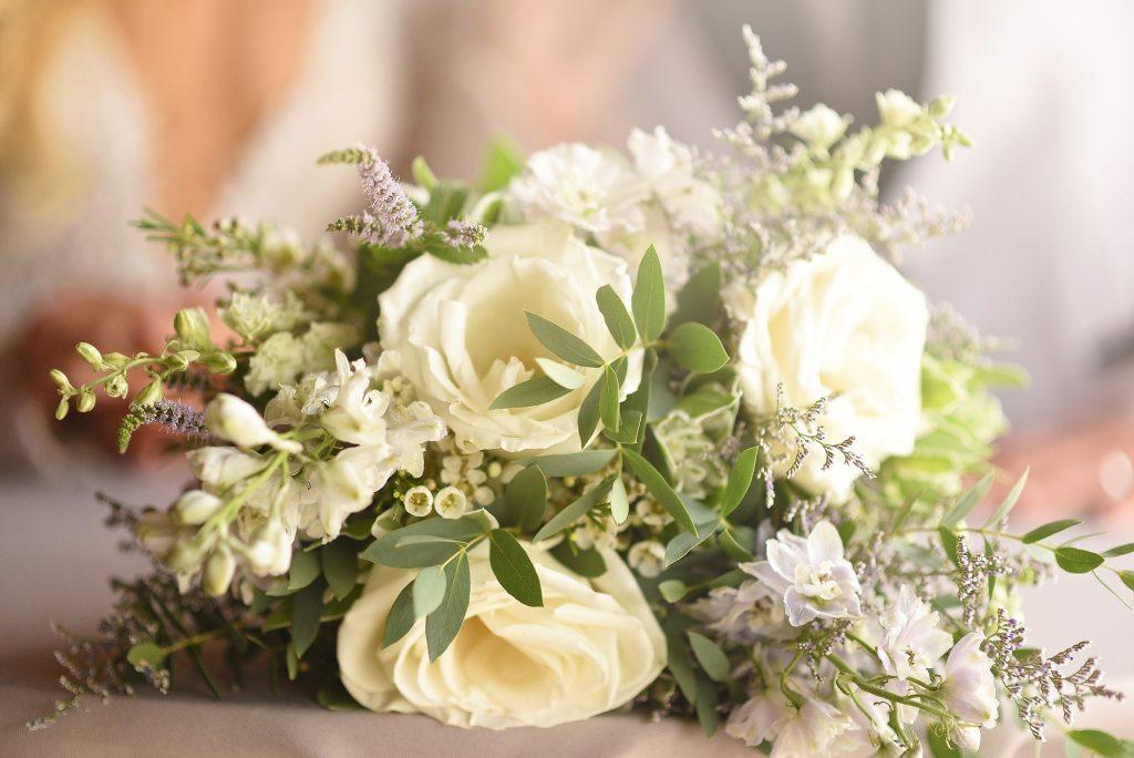 The Flowers are Still Blooming Julie Nicole Photography La Petite Fleur beautiful white wedding bouquet