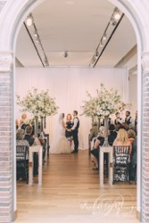 Maclaren art centre wedding ceremony