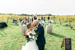Vineyard wedding at Hessenland