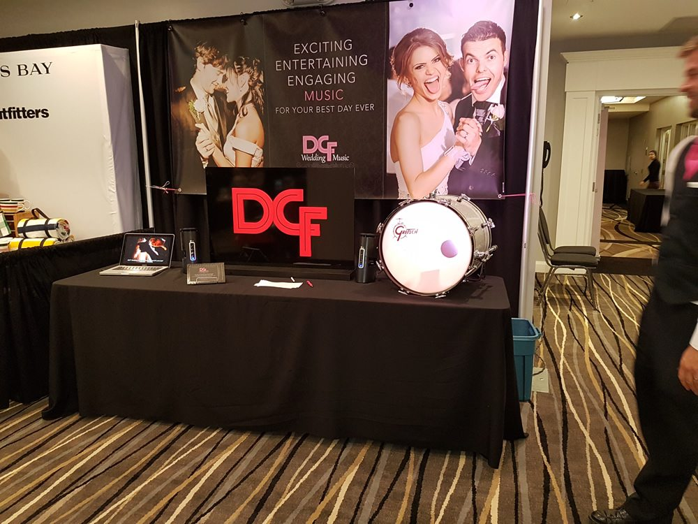 DCF Wedding Music, Cambridge Expo Fall 2016 at Cambridge Hotel