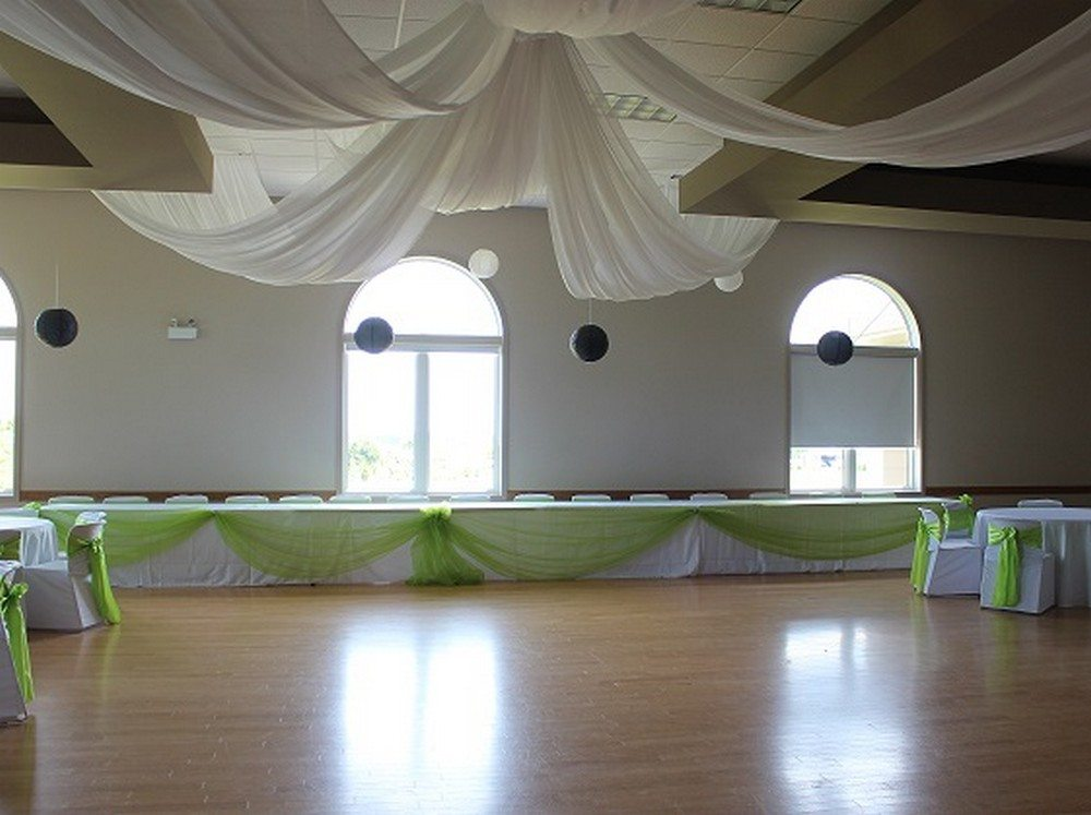 Décor: Fresh Look Design | Venue: Alma Community Centre