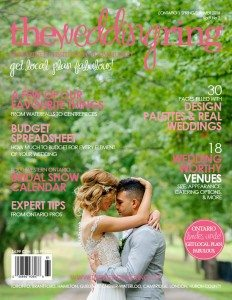 The Wedding Ring Magazing ONTARIO Spring/Summer 2016 | Cover: Spirits Intrigued