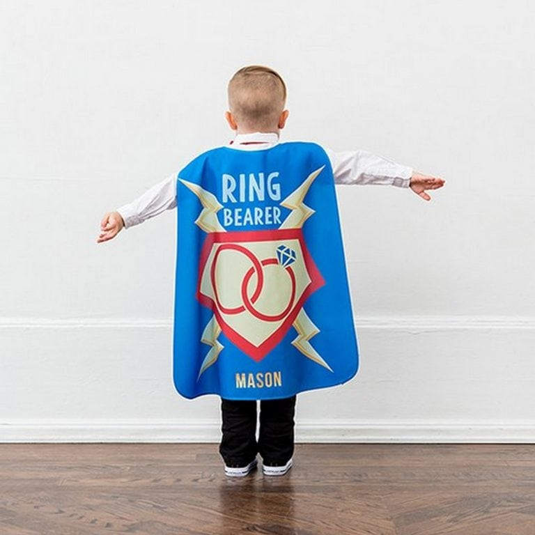 Ring Bearer Super Cape | $20 - Personalization Fee $6.95