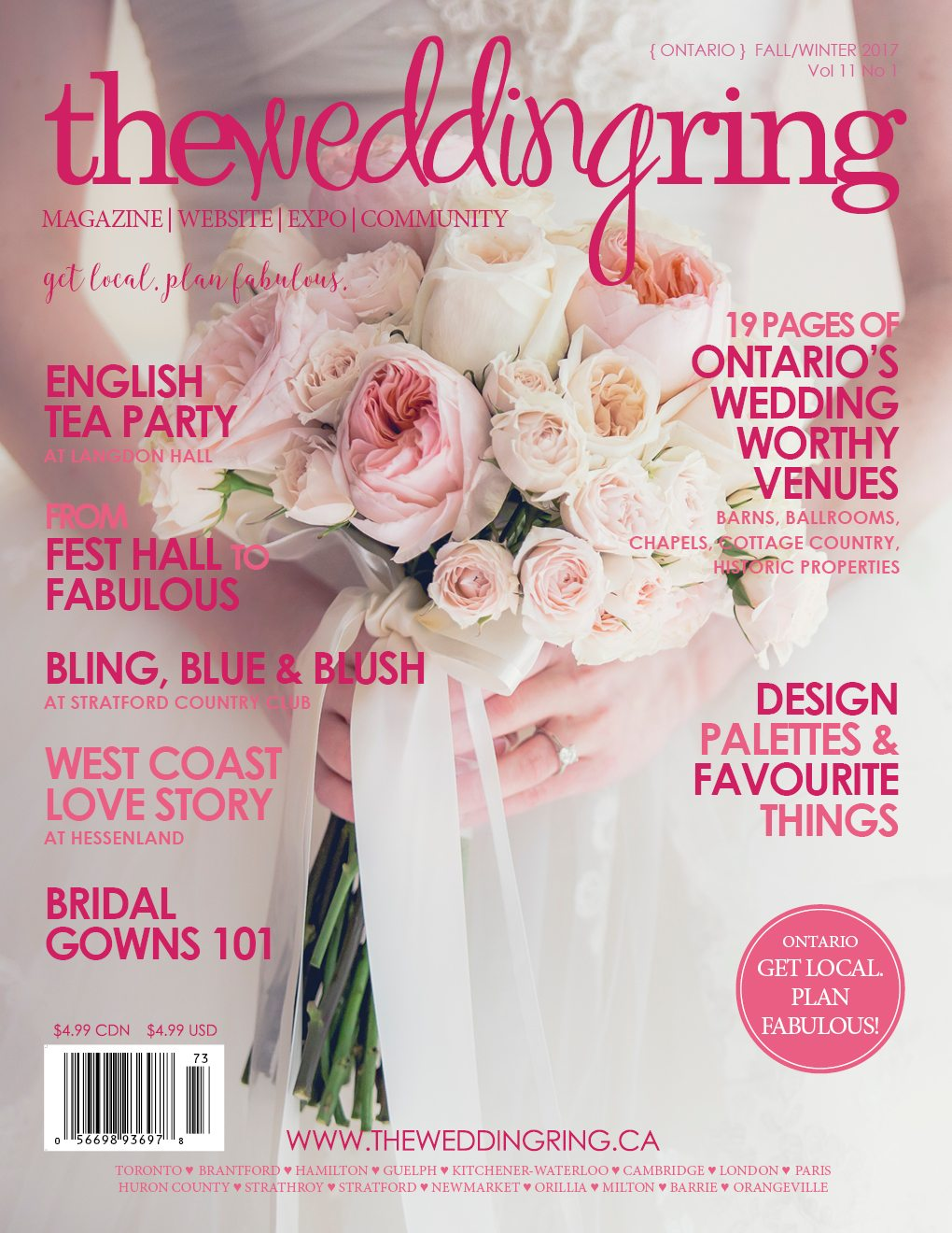 TWR Magazine ONTARIO | Fall/Winter 2017 | Get local. Plan fabulous ...