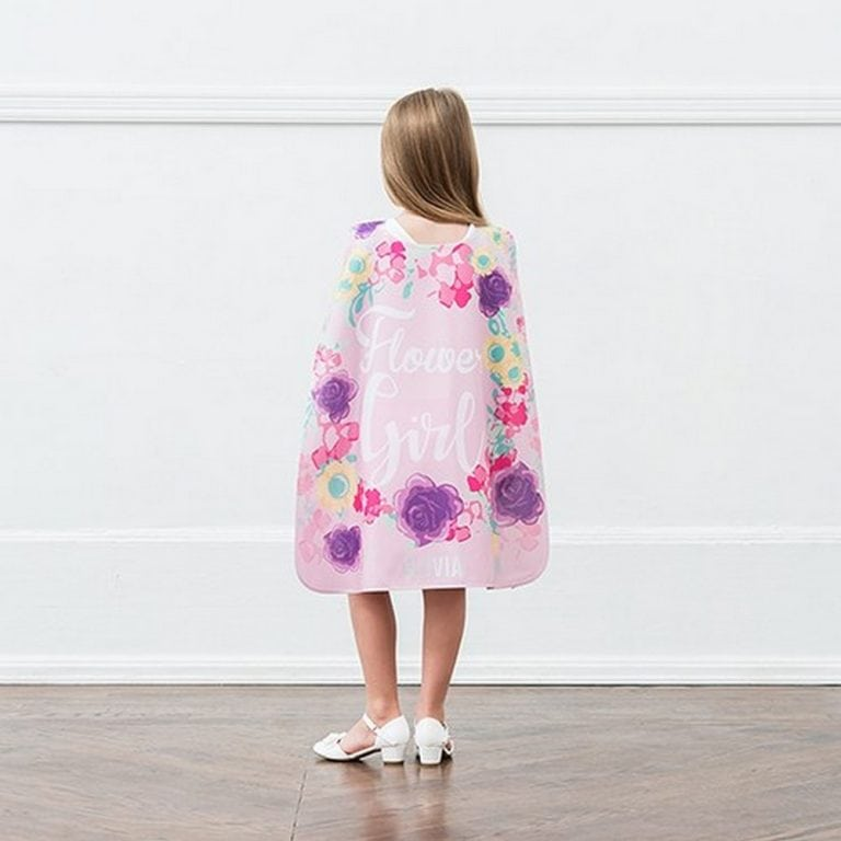 Flower Girl Super Cape | $20.00