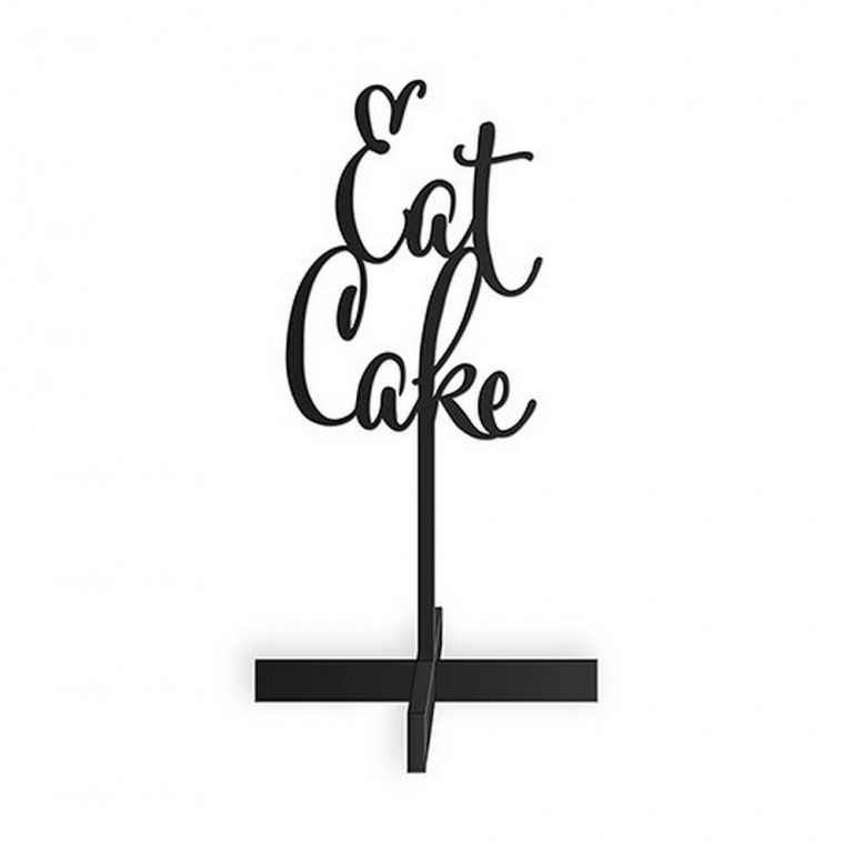 Eat Cake Acrylic Sign