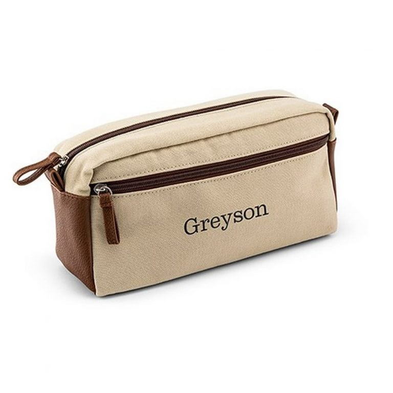 Men's Travel Toiletry Bag | $25 + $6.95 Personalization fee