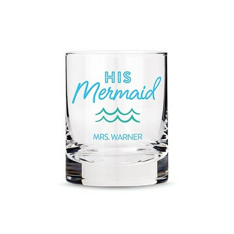 Personalized Whiskey Glass | $19 ($6.95 personalization fee)
