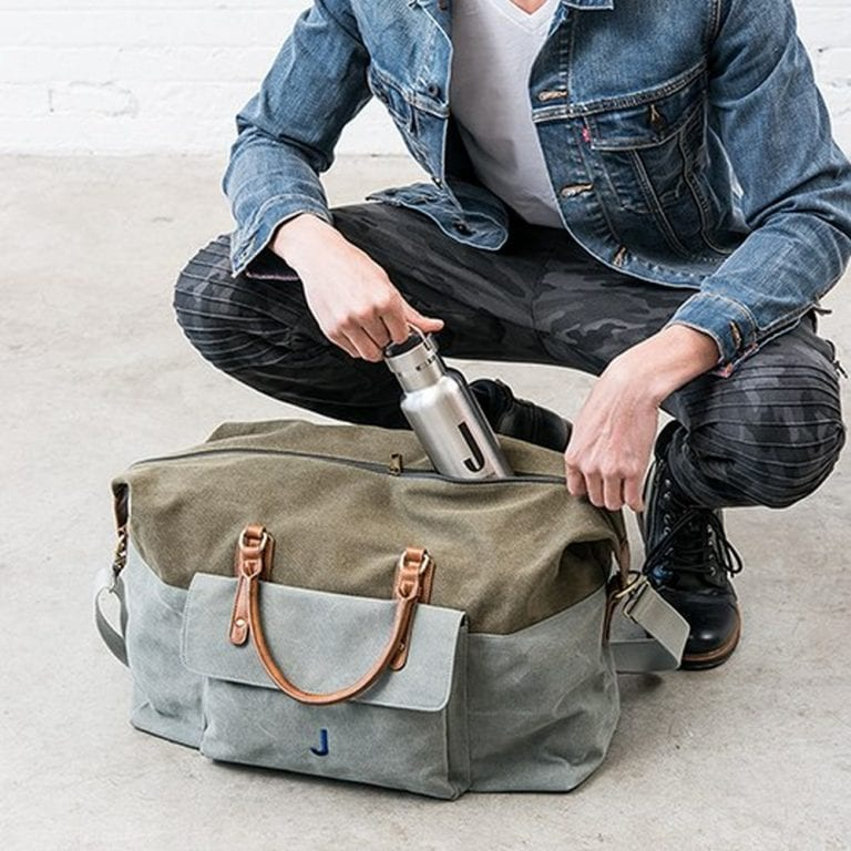 Canvas Weekender Travel Bag | $50