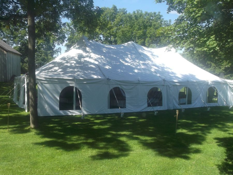 Backus Page Museum & Venue offers outdoor tent weddings and ability to bring in your ...