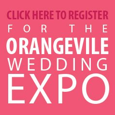 Click to Register for the Orangeville Wedding Expo