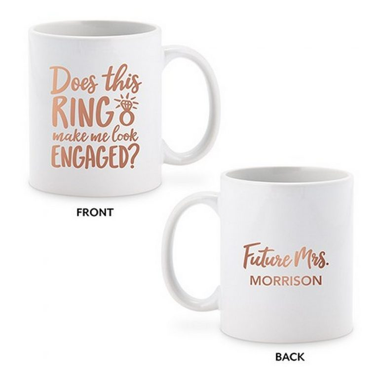 Personalized Coffee Mug $19