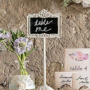 Wedsy.ca Table Number Signs