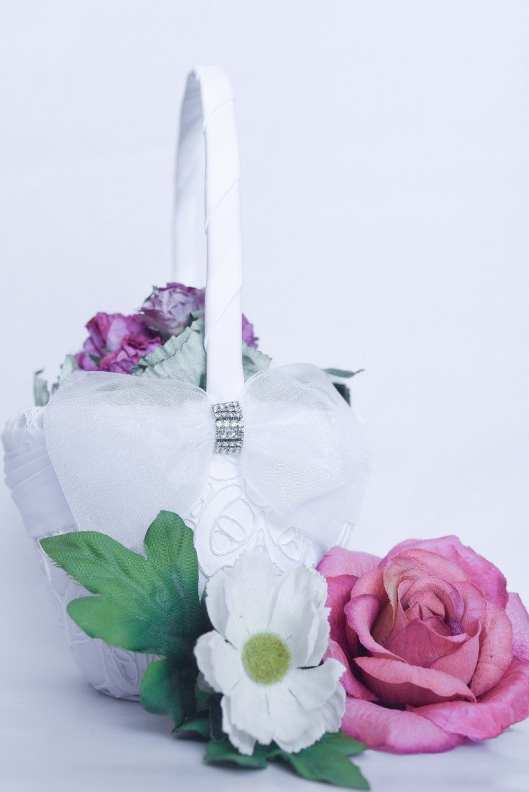 FLOWER GIRL BASKET $34